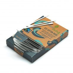 biodegradable cotton buds open pack