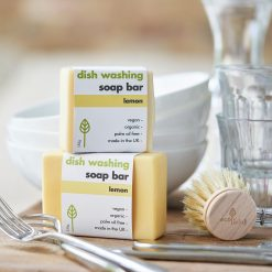washing up soap bar in the kitchen