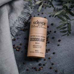 natural deodorant balm scence earth spice